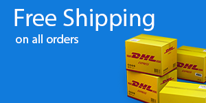 Free Shipping - On All Orders Worldwide